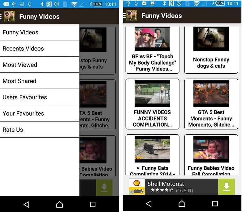 تحميل تطبيق Funny Videos الممتع والمضحك  Android