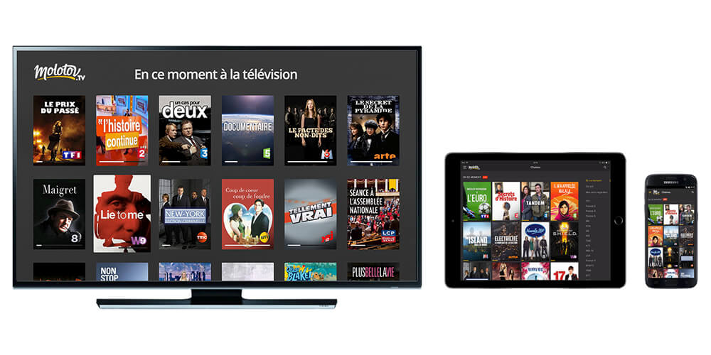 مستقبل التلفاز Molotov مشاهدة الافلام و البرامج مباشرة